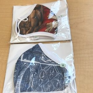 Accessories - Hawaii print masks
